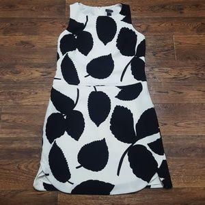 NWT Ann Taylor Spring Leaf Print Sheath Dress